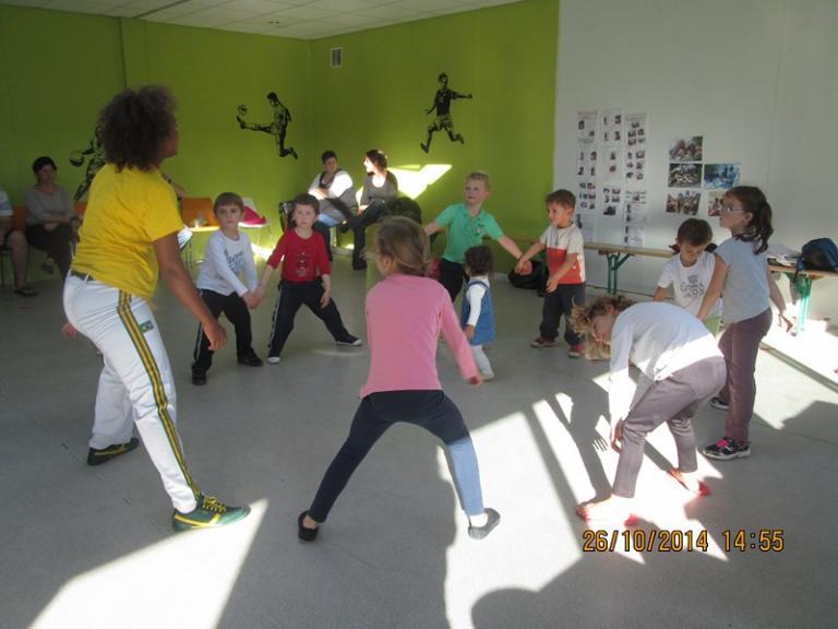 1er atelier avec les enfants