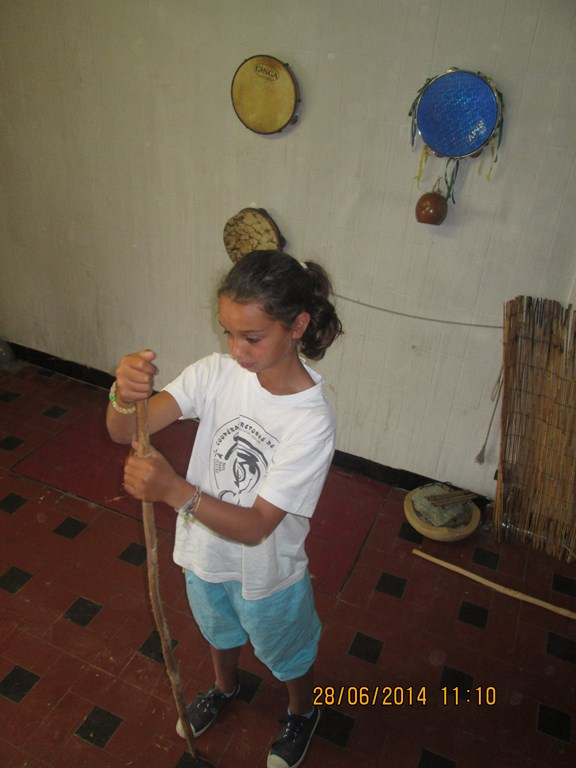 Fabrication de  berimbau 2014
